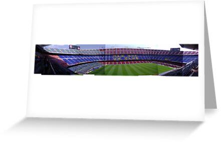 Camp Nou by Chris Leyland