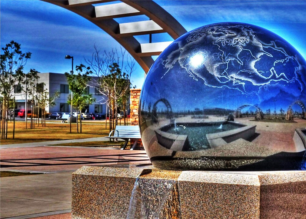 World View of Hesperia, CA by Herman Hodges