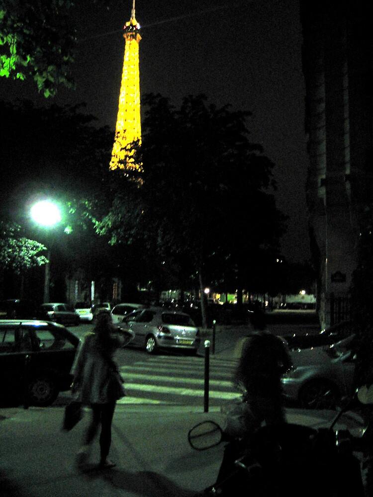 First Night In Paris by SamLowry