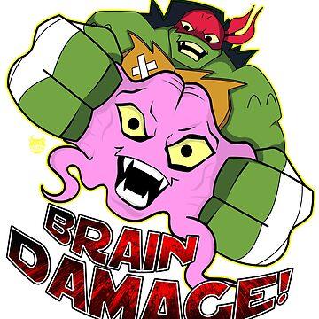 Brain Damage by nicitadesigns