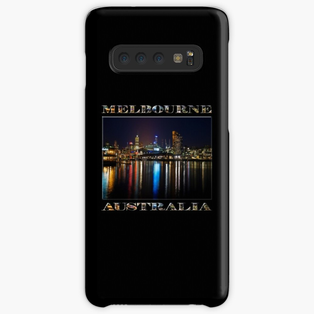 Harbour Lights (poster edition on black) Case & Skin for Samsung Galaxy