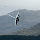 F15C low level in Wales by PhilEAF92