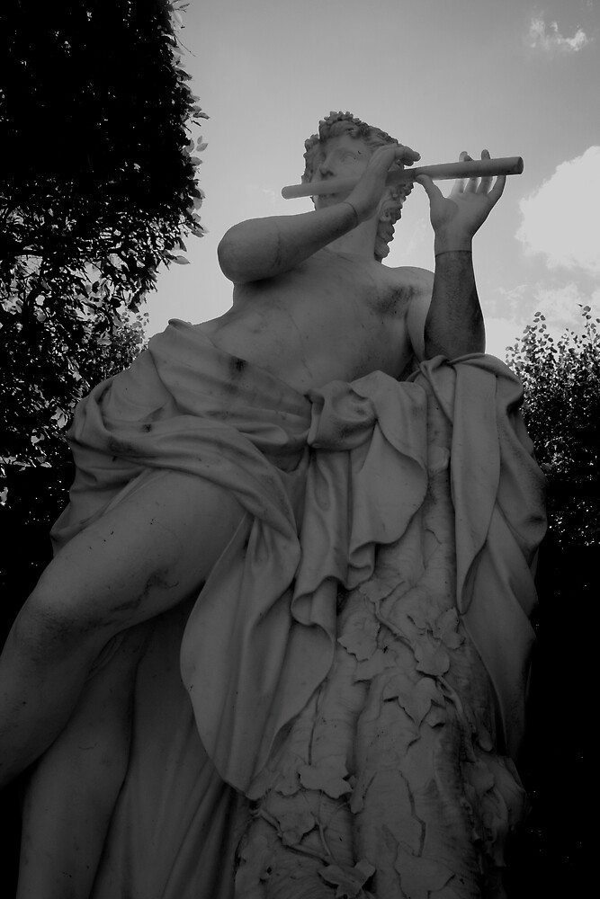 The Flutist by alineB