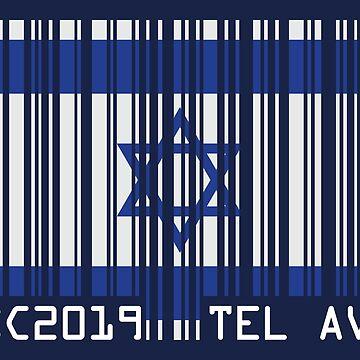 ESC barcode [2019, Tel Aviv] by lazarusheart