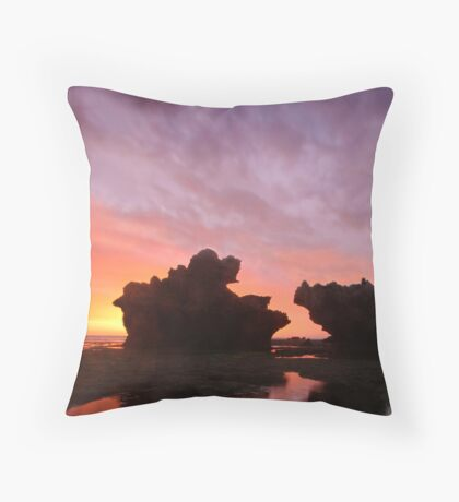 Ocean Giants Throw Pillow