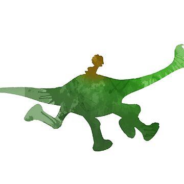 Dinosaur Inspired Silhouette by InspiredShadows