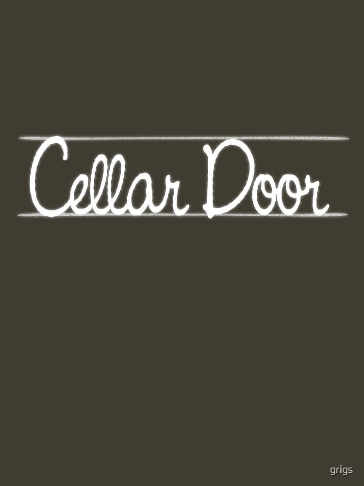 Cellar Door by grigs