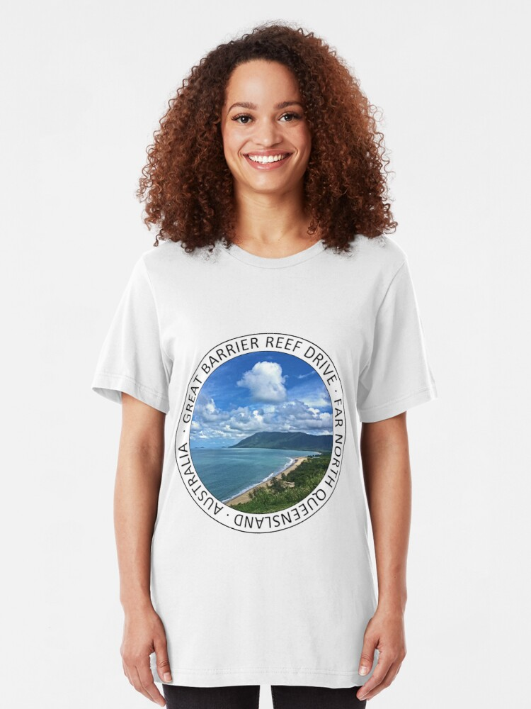 Alternate view of Rex Lookout GBR Drive graphic Slim Fit T-Shirt