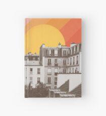 Rainbow Sky Above Paris Hardcover Journal