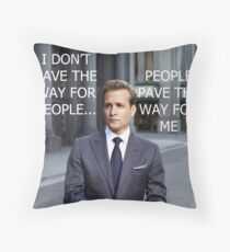 Harvey Specter Throw Pillow