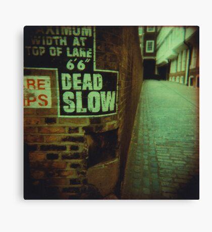Dead End Actually Canvas Print