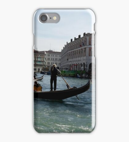 On the Grand Canal iPhone Case/Skin