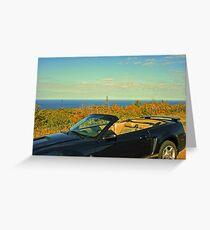 ...atop Brockway Mountain Drive... Greeting Card