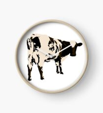 Atom Heart Mother - Cow Clock