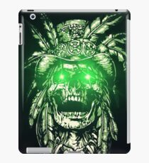 Indian Cyborg Skull iPad Case/Skin