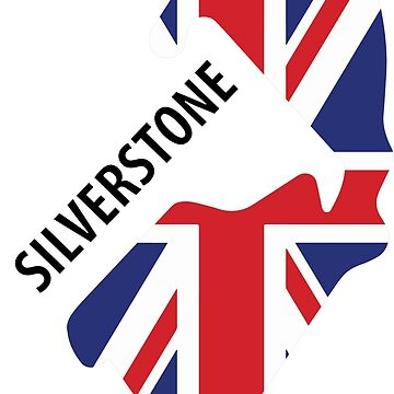 Silverstone Track UK Flag by tfmotorworks