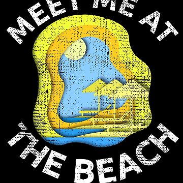 Meet Me At The Beach by LarkDesigns