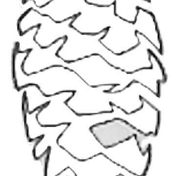 A Minimal Pinecone by VictorIos