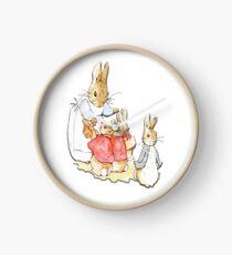 Nursery Characters, Peter Rabbit, Beatrix Potter  Clock
