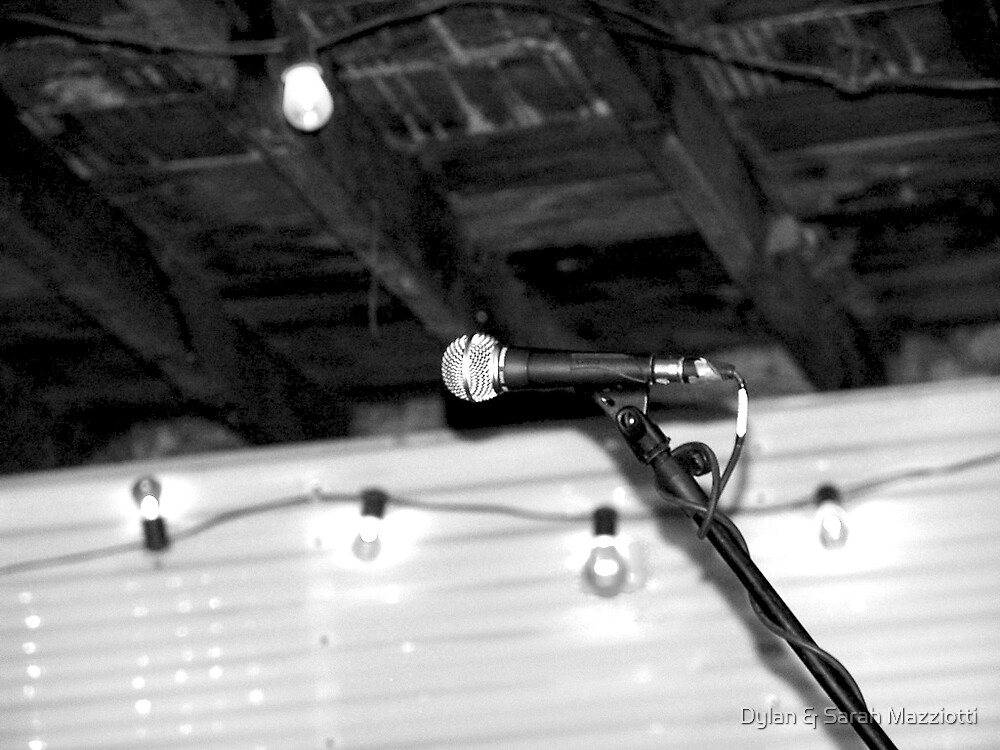 At The Mic by Dylan & Sarah Mazziotti