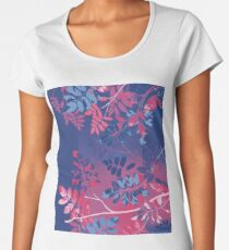 Interleaf 4 Premium Rundhals-Shirt