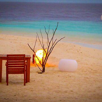 Romantic Beach by Enagel