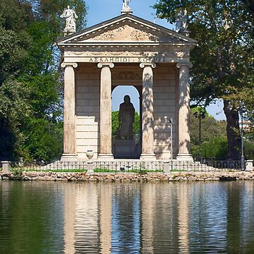 Temple of Aesculapius, Rome Italy by Mythos57