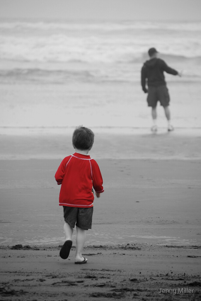 Hey Daddy... Wait for me! by Jenny Miller
