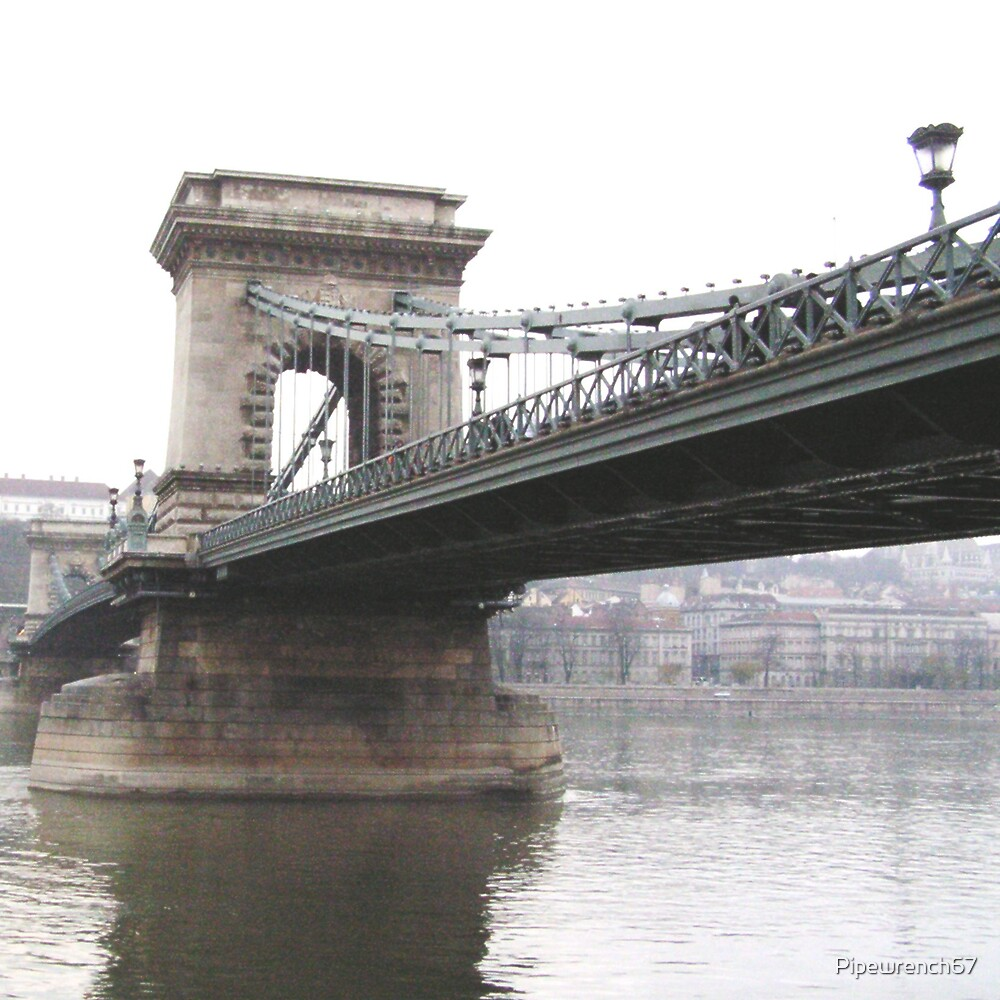 Chain Bridge From Below by Pipewrench67