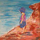 Marnie at the Beach by Julie-Ann Vellios