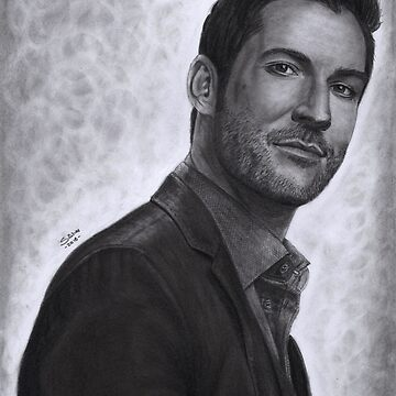 Tom Ellis - Lucifer by XFchemist-Art