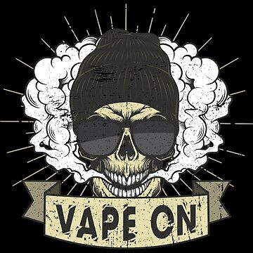 Cloud Chaser - Vaping Hipster - Vape On Swag by anziehend