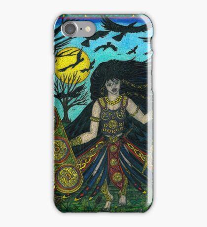 The Morigain Unleashed, Finished image iPhone Case/Skin