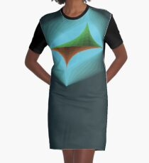 The Earth in Balance Graphic T-Shirt Dress