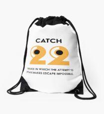 Catch 22 Drawstring Bag