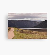 Path to Loch Muick Canvas Print