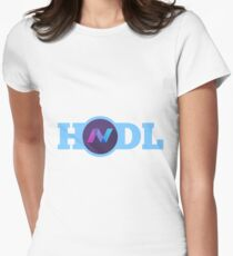 NavCoin HODL Women's Fitted T-Shirt