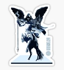 The Game of Kings, Wave Seven: The White Queen's Knight Sticker