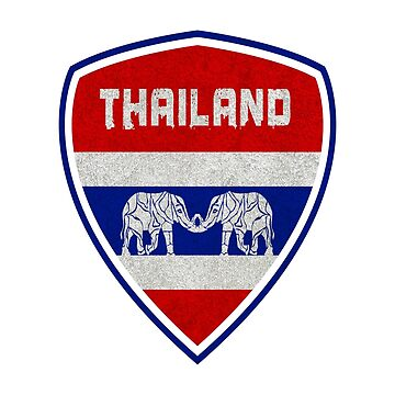 Thailand Coat of Arms / Flag National Flag Gift Thai Elephant by Rocky2018