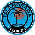 Islamorada Florida Tropical Palm Trees by MyHandmadeSigns