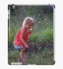 first flowers for her mom iPad Case/Skin