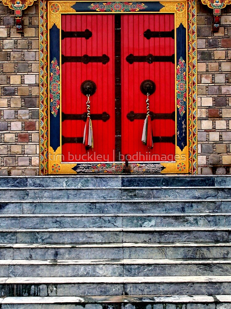 temple door by tim buckley | bodhiimages