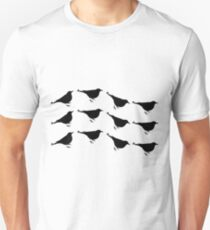 Ravens flight curve Unisex T-Shirt