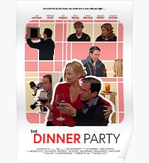 The Office Dinner Party Poster Poster