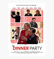 The Office Dinner Party Poster Photographic Print