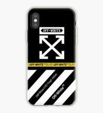 Off White Retro iPhone Case