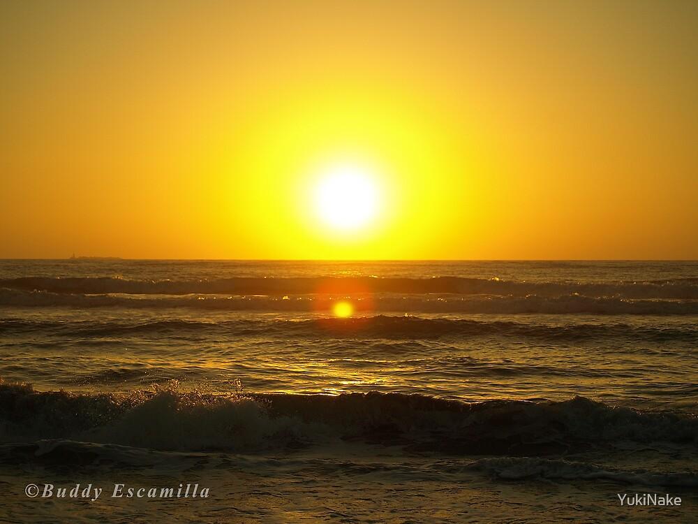 Sunrise Beach by YukiNake