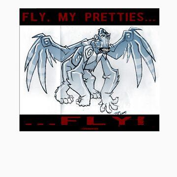 Fly, my Pretties...FLY! by tnperkins