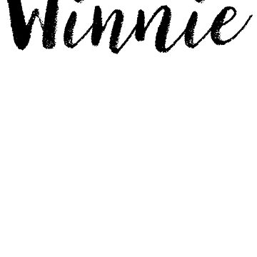 Winnie - Name Stickers Tees Birthday by klonetx