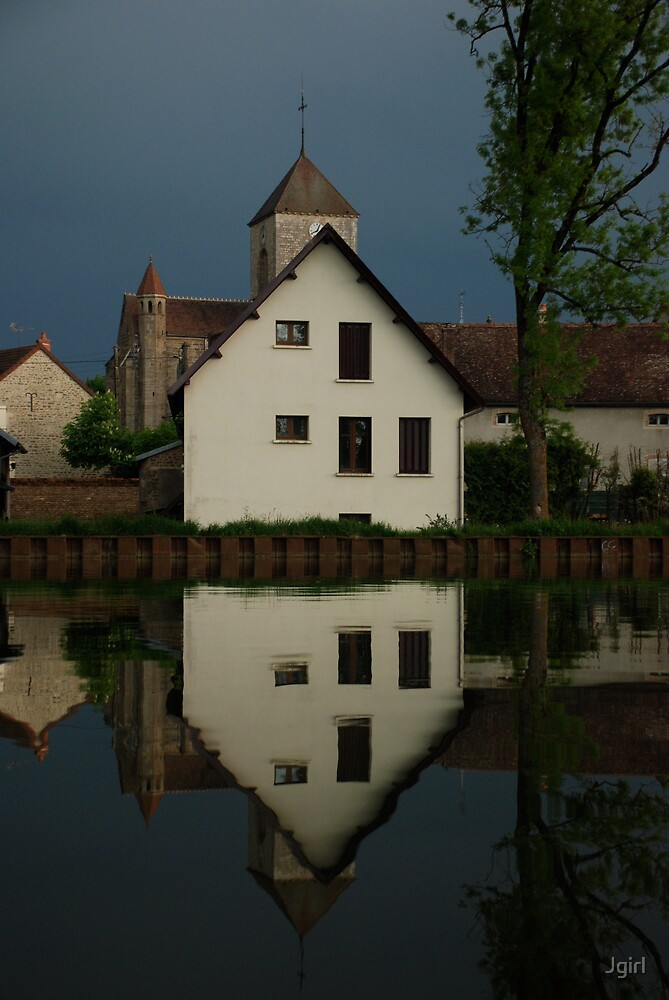 A still morning on the canals of France by Jgirl